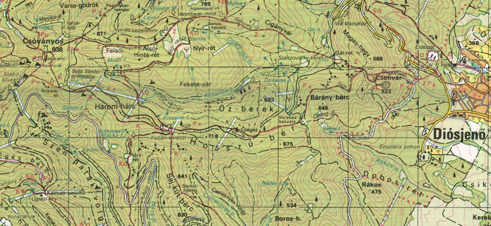 diósjenő térkép képek: Börzsöny 2010.01.16.   Diósjenõ– Gál rét – Ételhordó út  diósjenő térkép